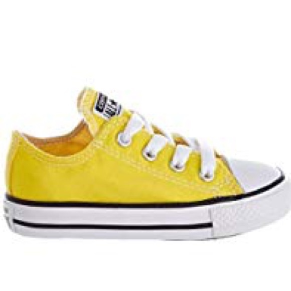 Converse Shoes | Yellow Baby Converse